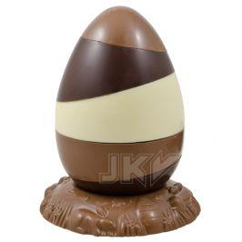 egg, pieces