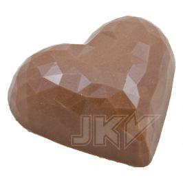 heart crystal, diamond