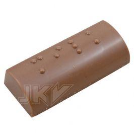 braille (witte chocolade)